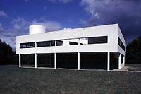 Villa Savoye Overall view from south west