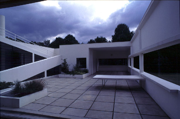 Terrasse Villa Savoye : Photo Gallery the Villa Savoye